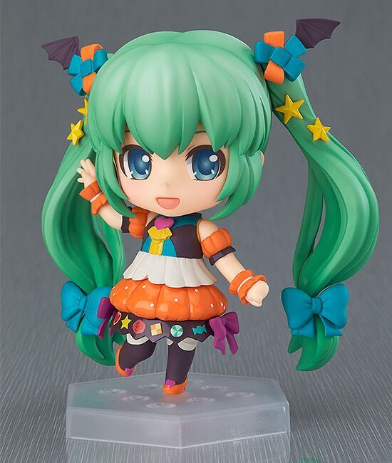Hatsune Miku Sweet Pumpkin Vocaloid Nendoroid Co-de Figure 4580416901536