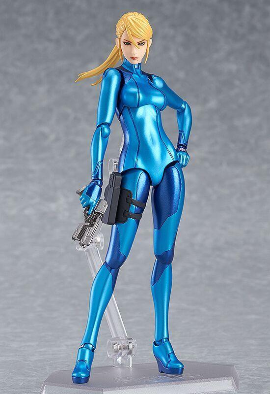 Samus Aran Zero Suit ver Metroid Figma Figure 4580416901680