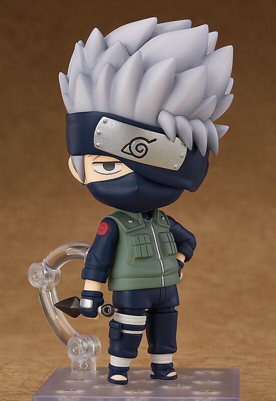 Kakashi Hatake Naruto Shippuden Nendoroid Figure 4580416902946