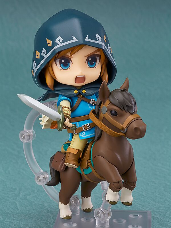 Link DX Edition Breath of the Wild Nendoroid Figure 4580416902984
