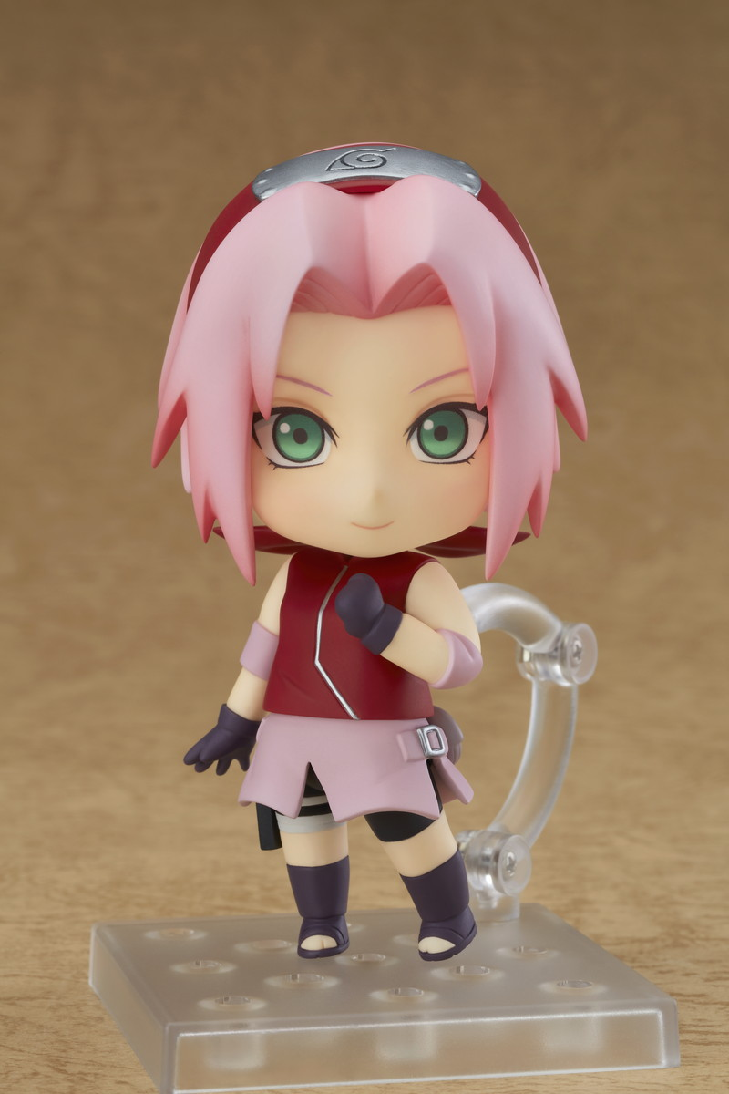 Sakura Haruno Naruto Shippuden Nendoroid Figure 4580416904384