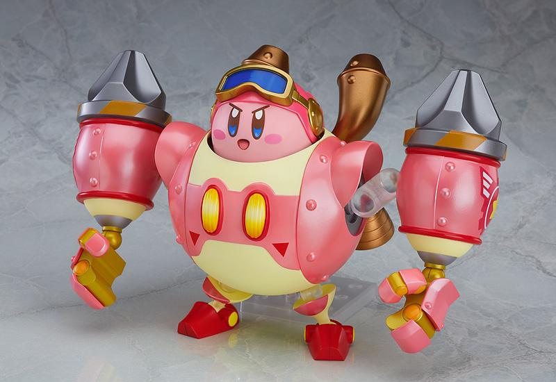 Kirby and Robobot Armor Kirby Planet Robobot Nendoroid More Figure 4580416904407