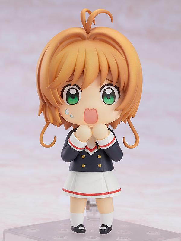 Sakura Kinomoto Tomoeda Junior High Uniform Ver Cardcaptor Sakura Clear Card Nendoroid Figure