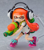 Inkling Splatoon Girl Figma Figure