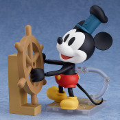 Mickey Mouse 1928 Color Ver Steamboat Willie Nendoroid Figure