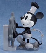 Mickey Mouse 1928 Black & White Ver Steamboat Willie Nendoroid Figure