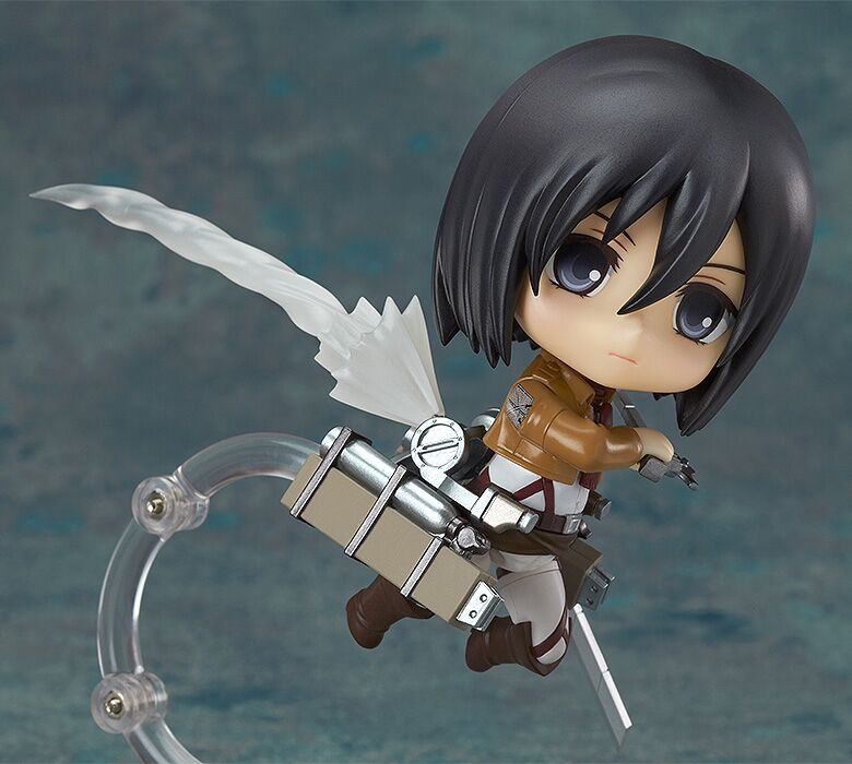 Mikasa Ackerman Attack on Titian Nendoroid Figure