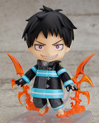 Shinra Kusakabe Fire Force Nendoroid Figure