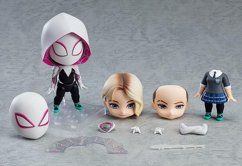 Spider-Gwen Spider-Verse Edition DX Ver Spider-Man Into The Spider-Verse Nendoroid Figure
