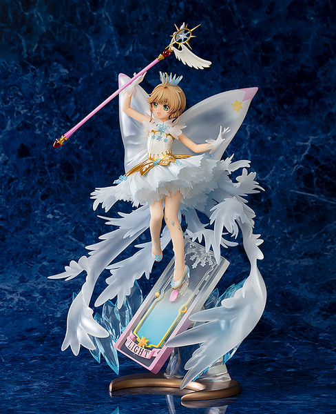 Sakura Kinomoto Hello Brand New World Cardcaptor Sakura Clear Card Figure