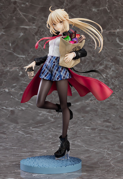 Saber/Altria Pendragon Alter Heroic Spirit Traveling Outfit Ver Fate/Grand Order Figure