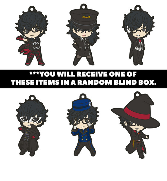 Joker Persona 5 Dancing in Starlight Nendoroid Plus Collectible PVC Keychain Blind Box