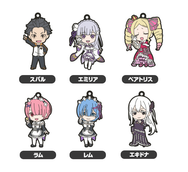 Re:ZERO Nendoroid Plus Collectible PVC Keychain Blind Box