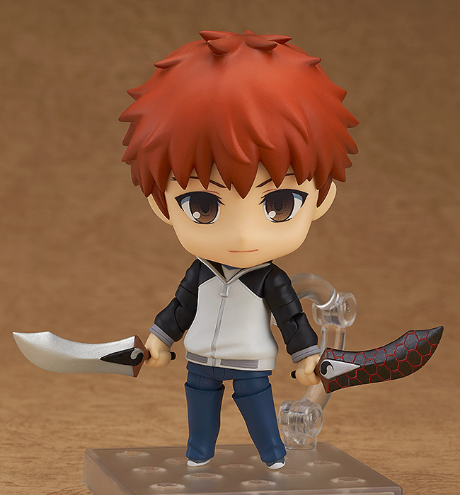 Shirou Emiya (Re-run) Fate/Stay Night Unlimited Blade Works Nendoroid Figure