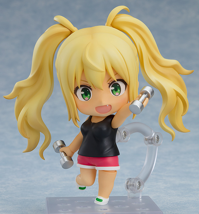 Hibiki Sakura How Heavy Are the Dumbbells You Lift? Nendoroid Figure