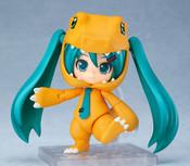 Hatsune Miku Agumon Kigurumi Ver Digimon Anniversary Nendoroid Figure