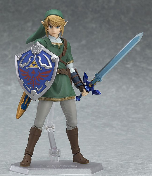Link (Re-run) The Legend of Zelda Twilight Princess DX Edition Figma Figure