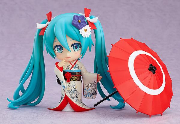 Hatsune Miku Korin Kimono Ver Character Vocal Series 01 Nendoroid Figure