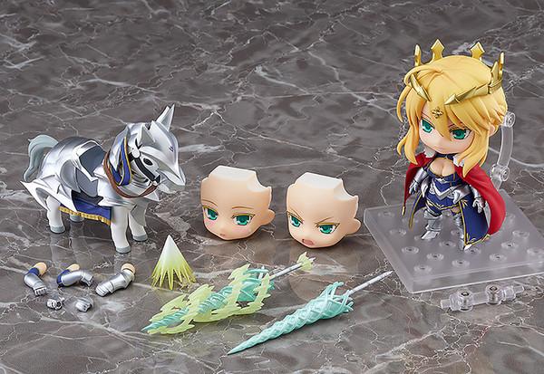 Lancer/Altria Pendragon & Dun Stallion Fate/Grand Order Nendoroid Figure