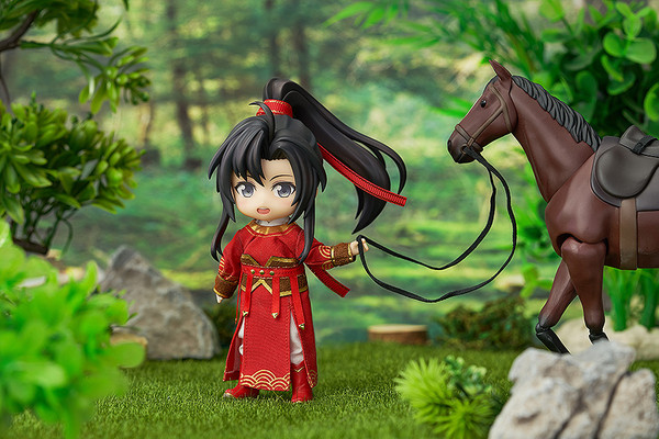 Wei Wuxian Qishan Night-Hunt Ver The Master of Diabolism Nendoroid Doll Figure