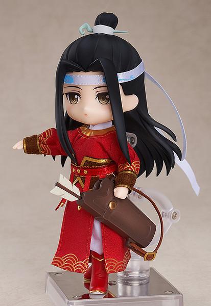 Lan Wangji Qishan Night-Hunt Ver The Master of Diabolism Nendoroid Doll Figure