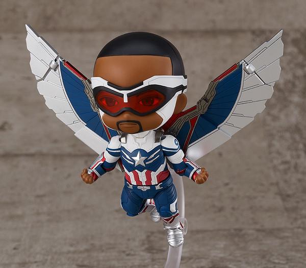 Captain America (Sam Wilson) DX Ver The Falcon and the Winter Soldier Nendoroid Figure