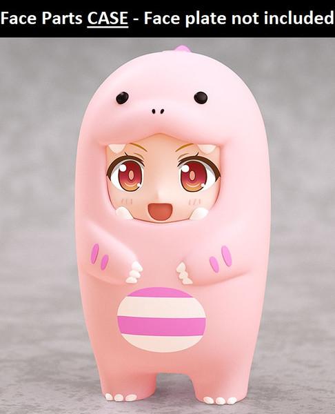 Pink Dinosaur Nendoroid More Face Parts Case