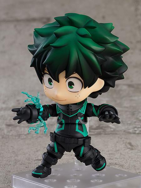 Izuku Midoriya Stealth Suit Ver My Hero Academia World Heroes' Mission The Movie Nendoroid Figure