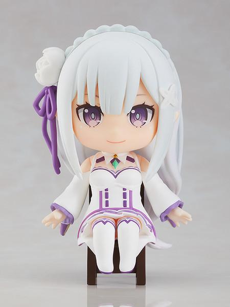Emilia Re:ZERO Nendoroid Swacchao! Figure