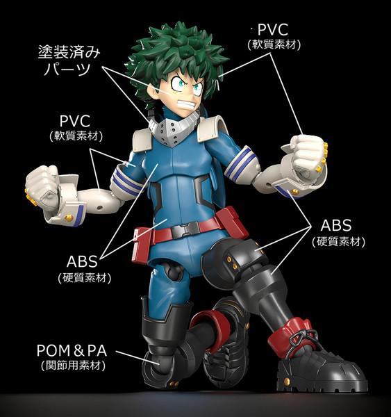 Izuku Midoriya My Hero Academia MODEROID Model Kit