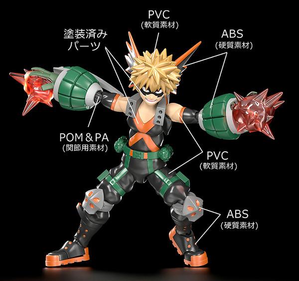 Katsuki Bakugo My Hero Academia MODEROID Model Kit