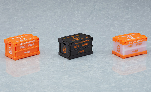 Good Smile 20th Anniversary Nendoroid More Black Storage Container