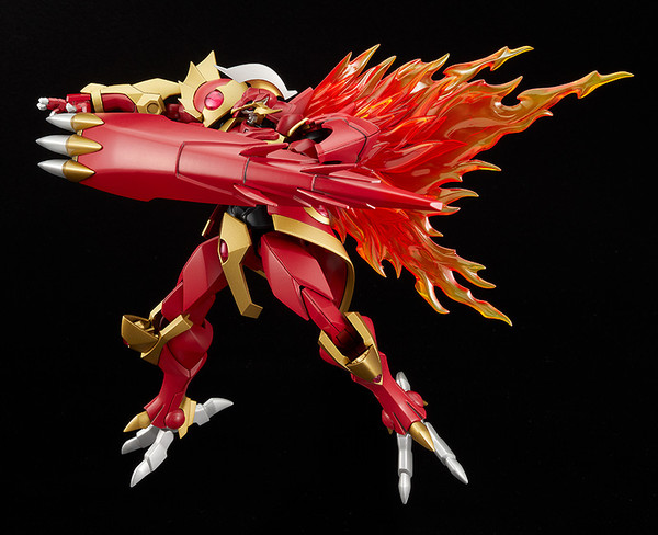 Rayearth the Spirit of Fire Magic Knight Rayearth MODEROID Model Kit