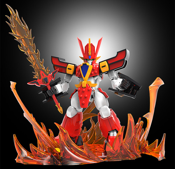 Flame Effect MODEROID and Figure Accessory