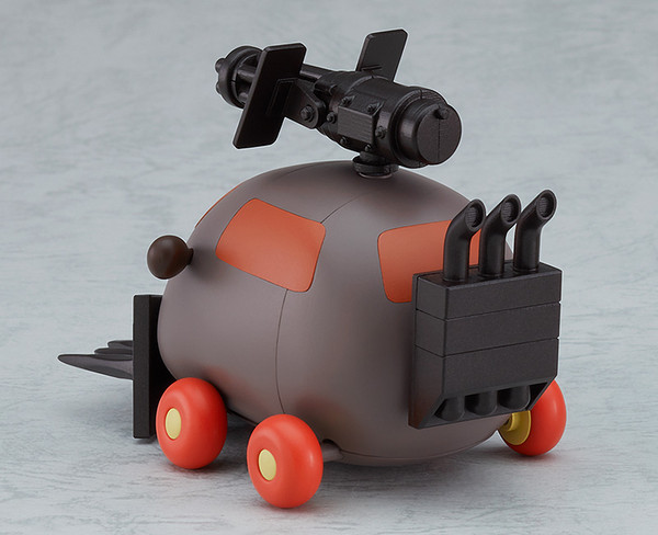 Armored Teddy Pui Pui Molcar MODEROID Model Kit