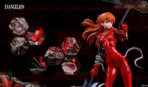 Asuka Shikinami Langley Evangelion 2.0 You Can (Not) Advance WonderStatue Figure