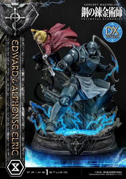 Edward and Alphonse Elric Transmutation DX Ver Fullmetal Alchemist Statue