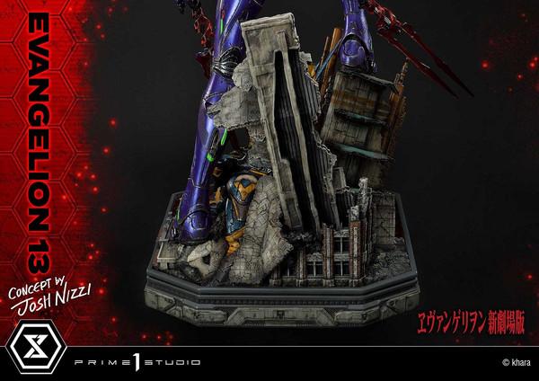 EVA-13 Josh Nizzi Ver Rebuild of Evangelion Ultimate Diorama Masterline Statue