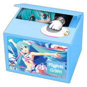 Racing Miku 2019 Blue Ver Hatsune Miku Coin Bank