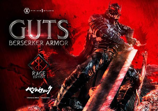 Guts Berserker Armor Rage Edition Berserk Statue