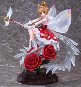 Sakura Kinomoto Rocket Beat Ver Cardcaptor Sakura Clear Card Figure