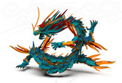 Azure Dragon Traditional Chinese Mythology Model Kit