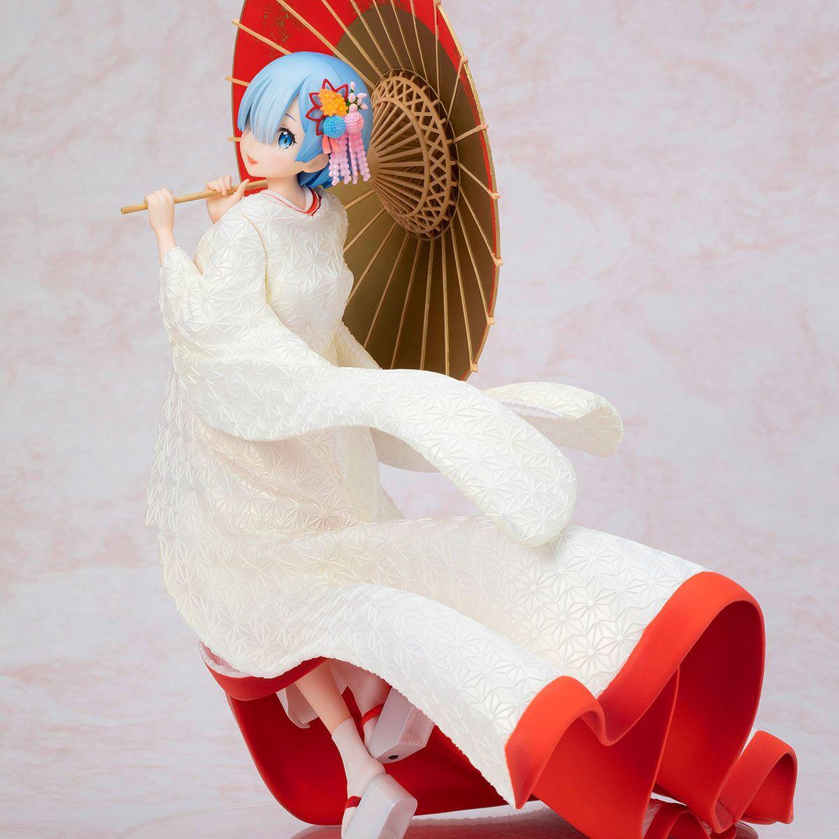 Rem Shiromuku Ver Re Zero Starting Life in Another World Figure