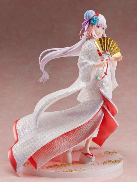 Emilia Shiromuku Ver Re:ZERO Figure