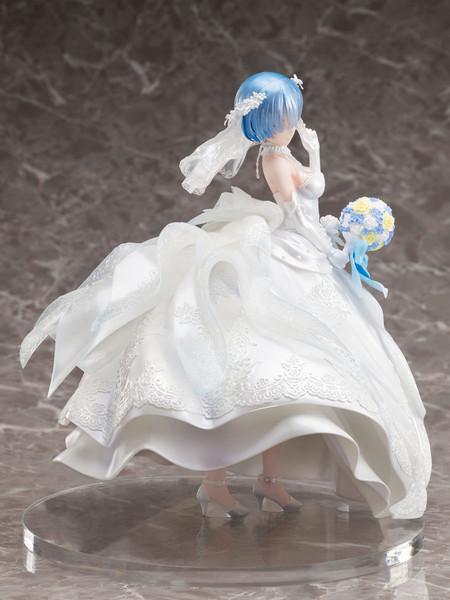 Rem Wedding Dress Ver Re:ZERO Figure