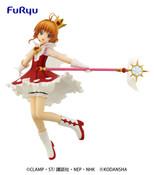 Sakura Rocket Beat Ver Cardcaptor Sakura Clear Card Prize Figure