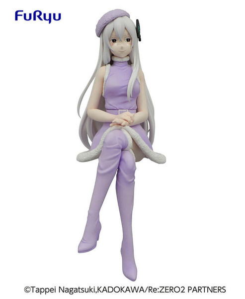Echidna Snow Princess Ver Re:ZERO Noodle Stopper Figure