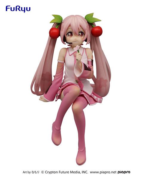 Sakura Miku 2022 Ver Hatsune Miku Noodle Stopper Vocaloid Figure