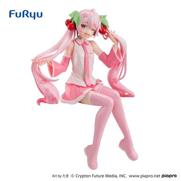 Sakura Miku Winking Ver Hatsune Miku Noodle Stopper Vocaloid Figure