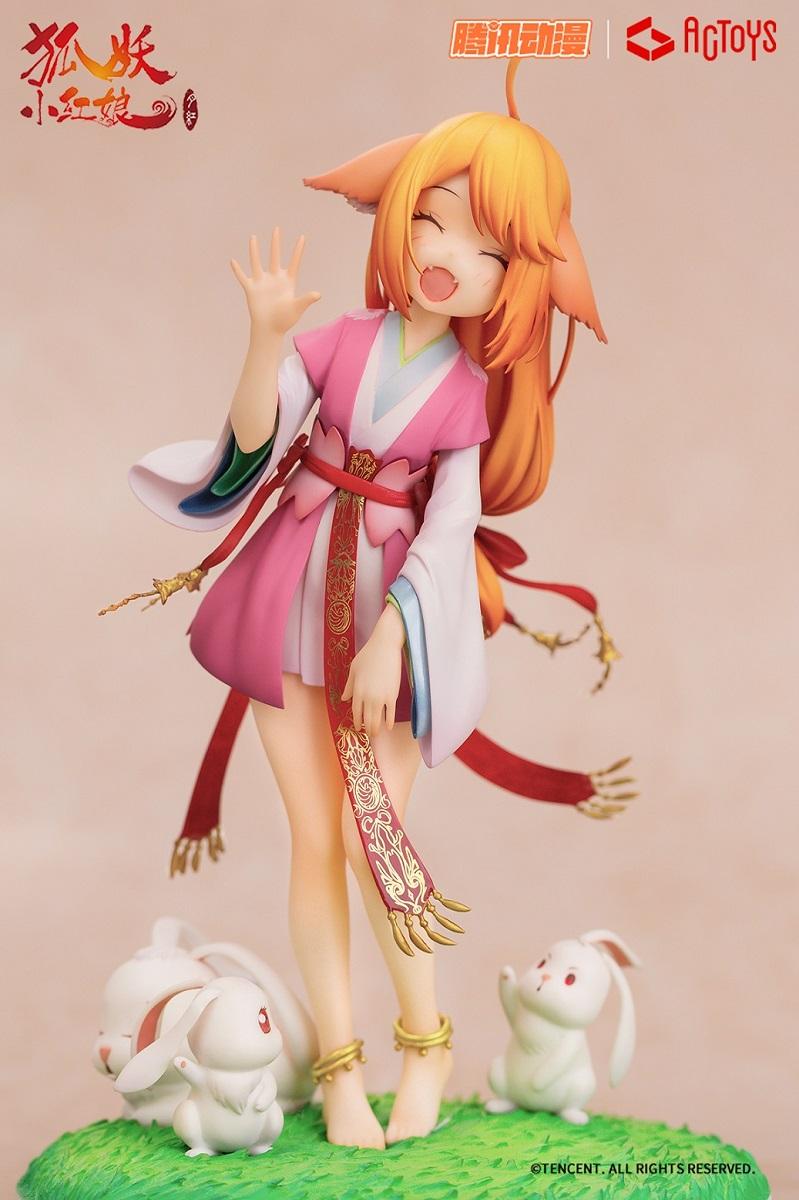Tushan Susu Fox Spirit Matchmaker Figure